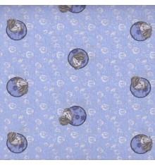 Papillon Bleu (Avril) mini design fabric