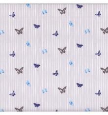 Papillon Bleu (Eliza) mini design fabric