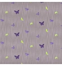 Papillon Mauve (Eliza) mini design fabric