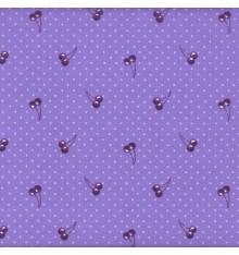 Papillon Mauve (Delphine) mini design fabric