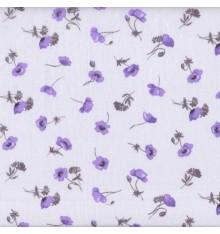 Papillon Mauve (Helene) mini design fabric