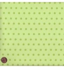 ELEGANCE - POLKA (Anis) Mini Design Fabric