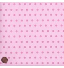 ELEGANCE - POLKA (Pink) Mini Design Fabric