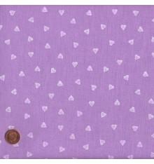 Lavender mini hearts design (Hearts)