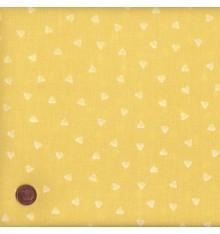 Green/Yellow mini hearts design (Hearts)