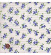 Blue mini floral design (Floral)