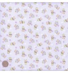 Baby blue mini teddy design (Teddy Novelty)