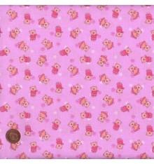 Pink mini novelty design (Teddy Novelty)