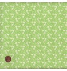 Green/Yellow mini daisy design (Daisy)