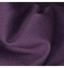 100% Linen Fabric  - Aubergine