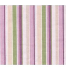 Chic multi-coloured cotton stripe