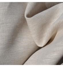 100% Linen Fabric  - Natural
