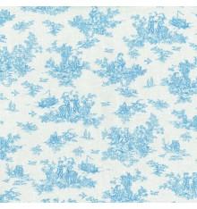 La Petite Toile de Jouy - Azure Blue