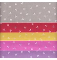 Textiles français Basics Stoffpak - Fabric Bundle of 5 Fabric Pieces