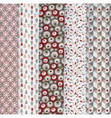 Textiles français 'Dreams in Colour' Stoffpak Fabric Pack (Naturals)