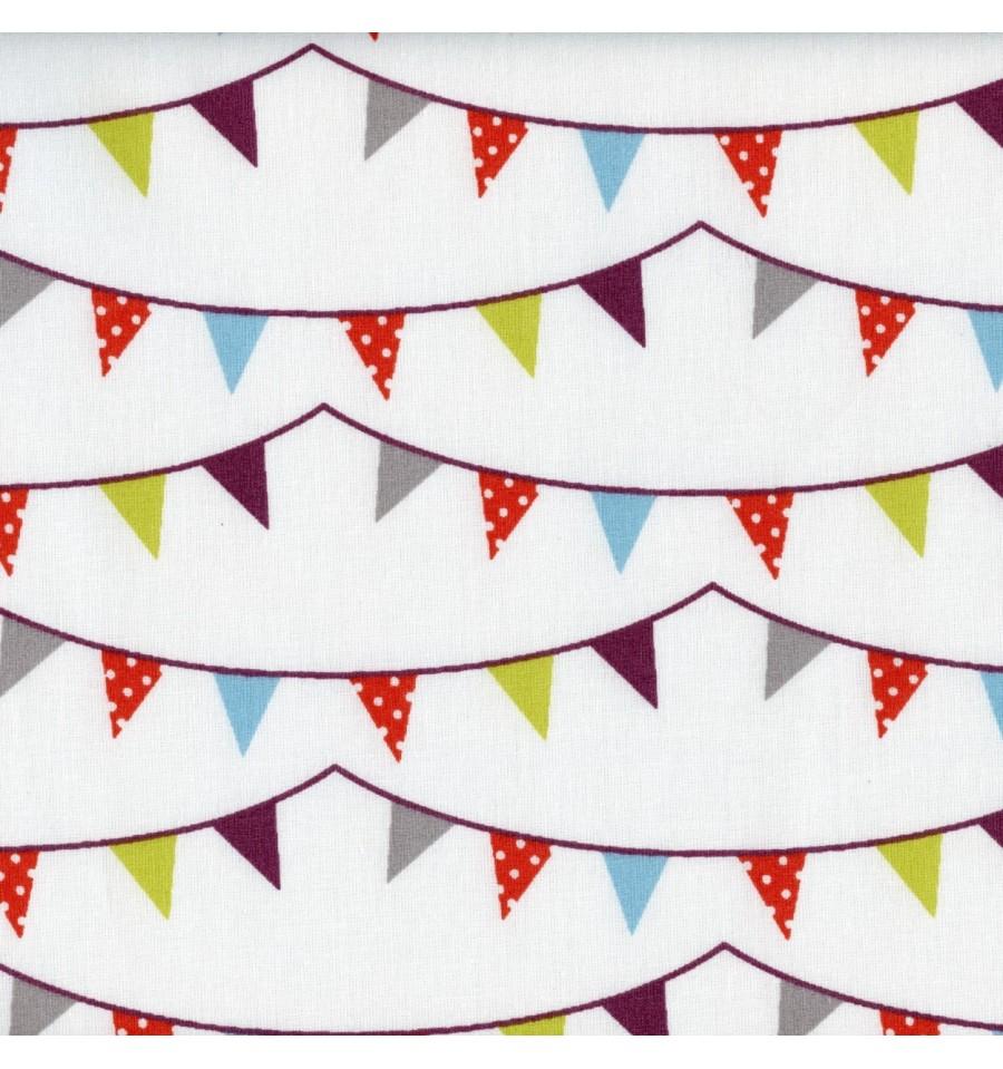 Fun Christmas Bunting Fabric Textiles Fran Ais