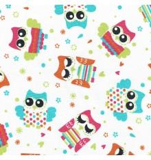 Owl Parade fabric