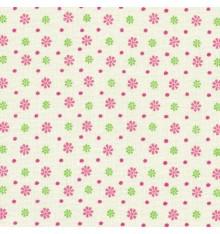 Pink Floral & Dot Fabric (Dordogne)
