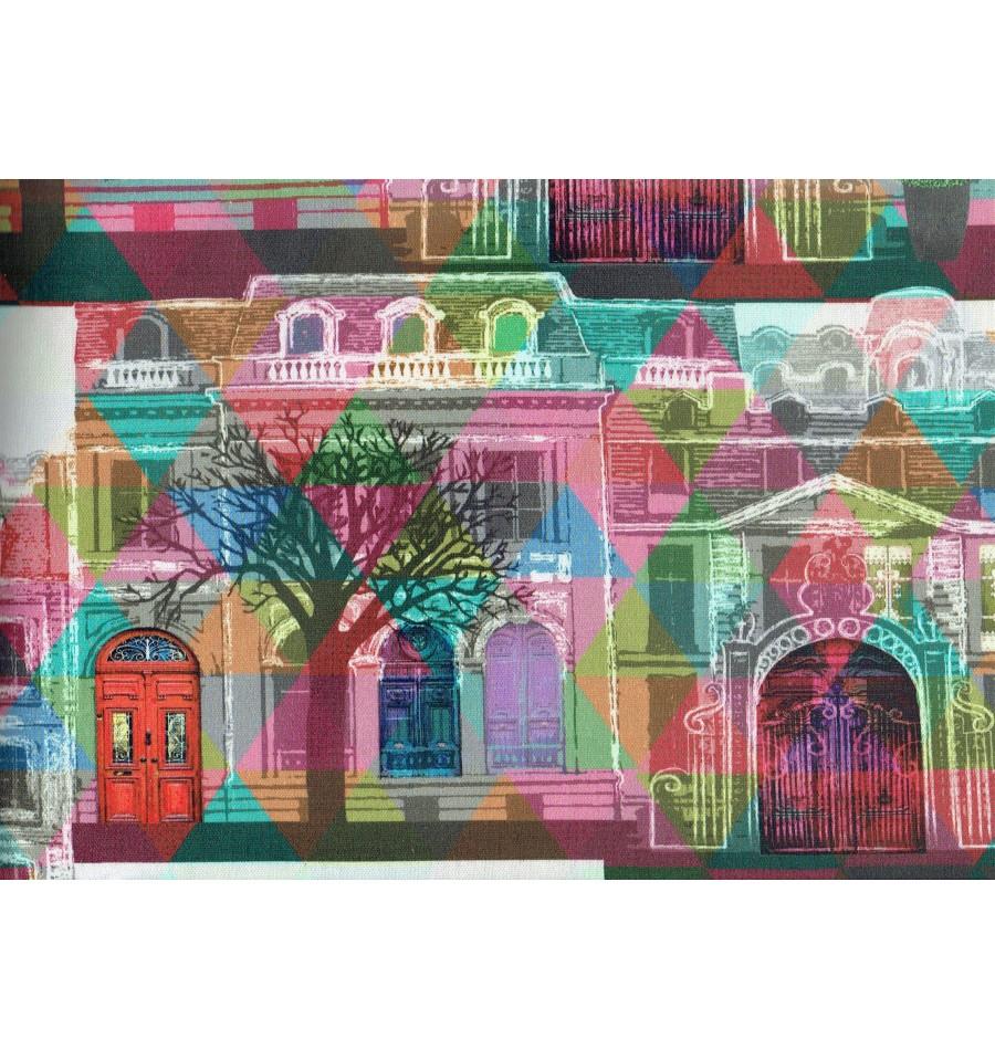 The Boulevard Digital Print Fabric Textiles Fran 231 Ais