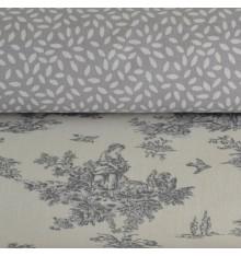 La Petite Toile de Jouy & Confetti Double 'Combo' Fabric Pack