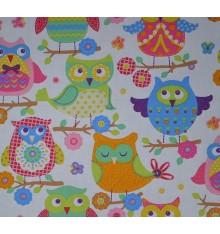 Children's 100% Cotton Designer Print - Hou Hou (Multicolour)