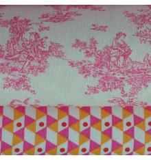 La Petite Toile de Jouy & Geometrica Double 'Combo' Fabric Pack