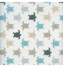 Turtle Race Children's Fabric