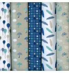 Textiles français Stoffpak Winter Party Fabrics