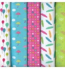 Textiles français Stoffpak Summer Party Bright Fabrics