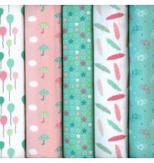 Textiles français Stoffpak Spring Party Fabrics