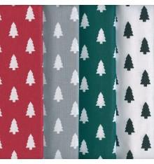 Textiles français Stoffpak™ - Christmas Trees Fabrics