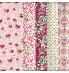 Stoffpak™ Fabric Pack (Strawberries & Cream Florals)