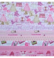 Stoffpak™ Fabric Pack - ELEGANCE (Pink)