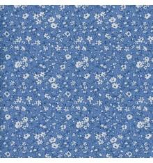La fleur de la liberté fabric - mid blue