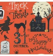 Spooky Halloween fabric