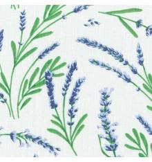Lavande de Provence Lavender Sprigs fabric