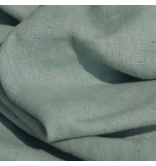 100% Linen Fabric  - Sage Green