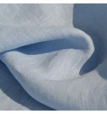 100% Linen Fabric  - Sky Blue