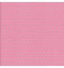 Asanoha Japanese geometric fabric - Rose
