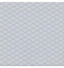 Japanese Scales fabric - Light Grey