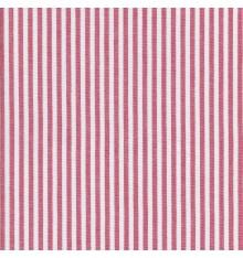 Woven Marine stripe fabric (red & white)