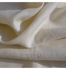 100% Linen Fabric  - Cream