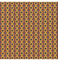 AFRICA fabric - mustard yellow
