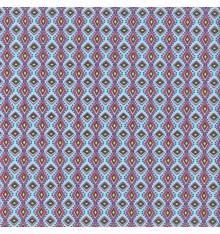 AFRICA fabric - sky blue