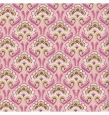 ART NOUVEAU FLORAL fabric - pink