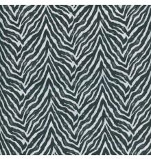 ZEBRA fabric - zebra black and white
