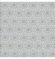 THE DANDELION CLOCKS fabric - beige & grey
