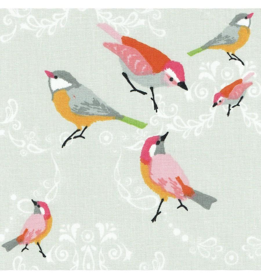 A Little Bird Fabric 100 Cotton Designer Print