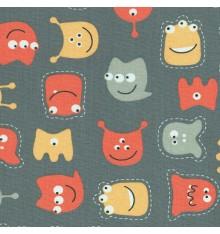 Little Friendly Monsters Fun Children's Fabric