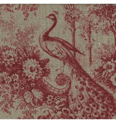 https://www.textilesfrancais.co.uk/854-thickbox_default/100-linen-peacock-print-red.jpg
